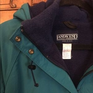 5a5e228691 Lands  End Jackets   Coats - VINTAGE Lands End Pullover Ski Jacket ...